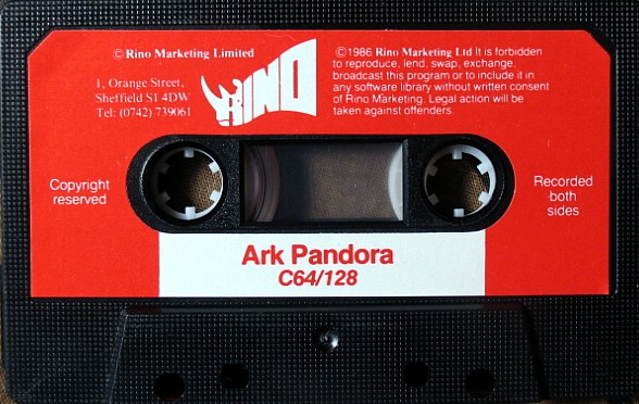 Ark Pandora (Ebony and Ivory Remix 2008)