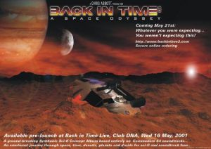 Back In Time 3 Live Poster