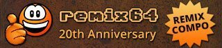 Remix64 20th Anniversary Compo Banner 320x70 © Image by Ziona