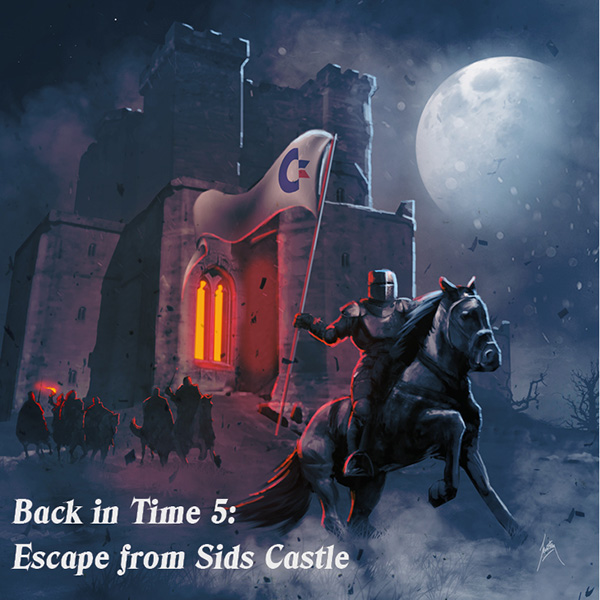 Back In Time 5 - Escape from SIDs Castle © (C) 2020 C64Audio.com